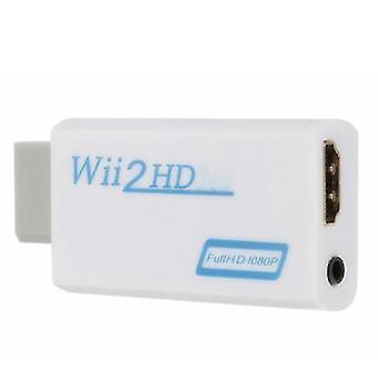 HDMIコンバータに白いwii、サポートhd 1080pコンバータ、hdmi az6426にwii
