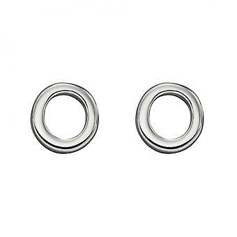 Начальные O стерлингового серебра Серьги E6032