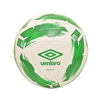 Umbro Swerve Football White Green Size 3