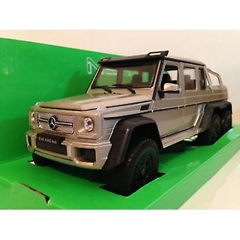 Mercedes AMG G63 6x6 Gold 1:24 Scale Welly 24061GD