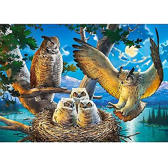 Castorland Owl Family Jigsaw Puzzle (500 Pieces)