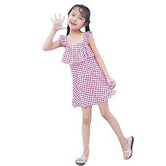 Girl's swimsuit student dress style summer princess