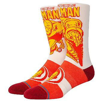 Stance Iron Man Marquee Socks - Red