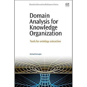 Domain Analysis for Knowledge Organization: Tools for Ontology Extraction