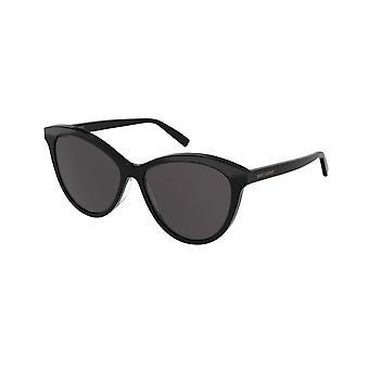 Saint Laurent Sl 456 001 Classic Black Cat Eye Ladies solbriller