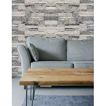 Hyfive modern brick wall 3d wall poster natural design, wallpaper home decor for bedroom, living room, hall, kids room, play room