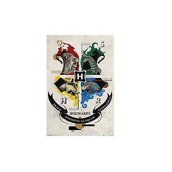 Harry Potter Poster Tier Wappen 103