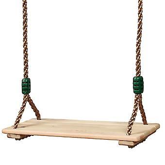 חבל מתכוונן חבל שטוח מושב מושב גינה ופטיו תלוי swinget