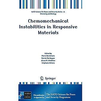 Instabilités chimiomécaniques dans les matériaux réactifs (NATO Science for Peace and Security S...