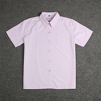 Chemise blanche Middle High School Uniforms School Dress Jk Uniforme