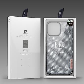 Coque en Nylon pour Apple iPhone 13 Pro Max     TPU flexible   arrière en nylon Anti empreintes digitales