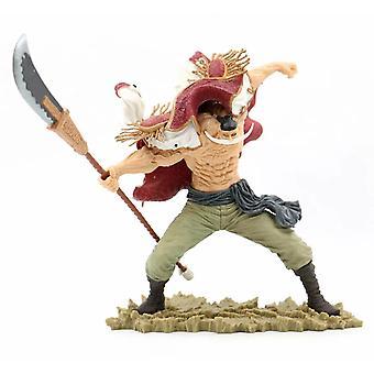 Anime One Piece White Beard Pirates Edward Newgate 20th Battle Ver. GK PVC Action Figures