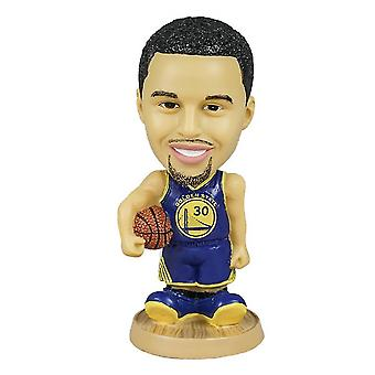 Lanbena Stephen Curry Action Figure Statue Bobblehead Basketball Doll Decoration