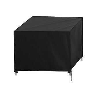 420D Oxford kangas Ulkona vedenpitävä huonekalu pölysuojus nelikulmainen solki (150 * 150 * 75cm)