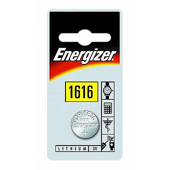 Renata 3V Lithium Coin Cell Battery - Pack of 10 (CR1616)