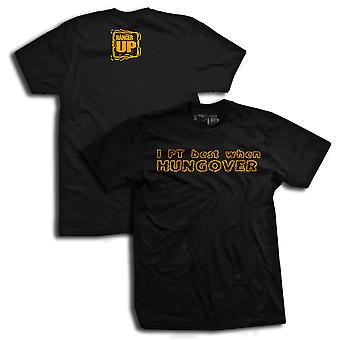 Ranger Up I PT Best When Hungover T-Shirt - Black