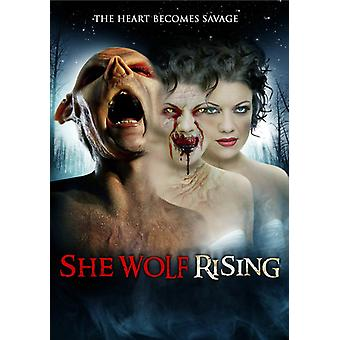She Wolf Rising [DVD] USA import