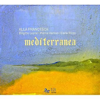 Alla Francesca Trio - Mediterranea [CD] USA import