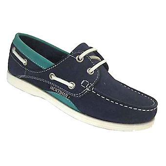 Ladies Seafarer Yachtsman Nubuck Leather Boat Deck Shoes L27