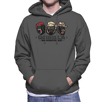 Gorilla Warfare Men's Hooded Sweatshirt