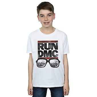 Run DMC Boys Logo Glasses T-Shirt