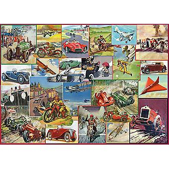 Gibsons The Racing Game Jigsaw Puzzle (1000 Pieces)