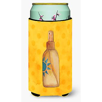 Message in a Bottle Yellow Polkadot Tall Boy Beverage Insulator Hugger