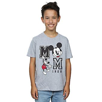 Disney Boys Mickey Mouse Jump And Wink T-Shirt