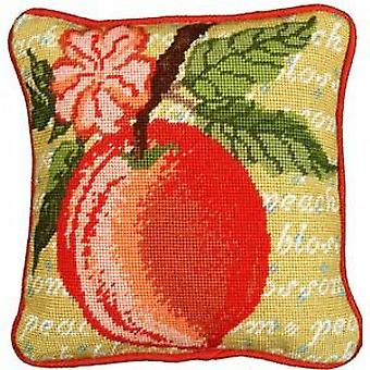 Peach Blossom Needlepoint Kit