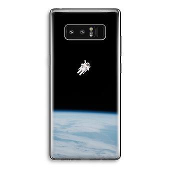 Samsung Galaxy Note 8 gjennomsiktig tilfellet (myk) - alene i rommet