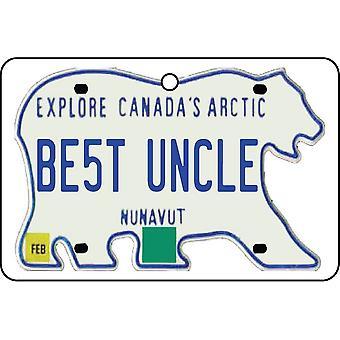 NUNAVUT - beste onkel lisens Plate bil Air Freshener