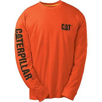 Caterpillar Mens C1510034 marca Premium peso algodão camiseta