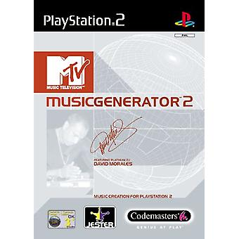MTV Music Generator 2 (PS2)-fabriek verzegeld