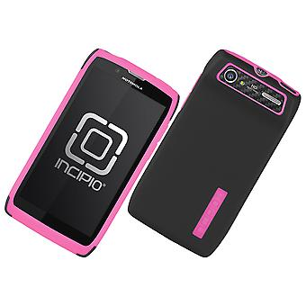 Incipio DualPro Case for Motorola Electrify 2 (Black/Pink)