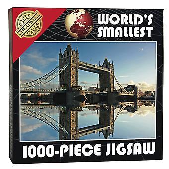 World's Smallest Jigsaw Puzzle - Tower Bridge (1000 Pieces)