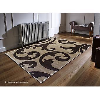 Ontwijken van bruin tapijt