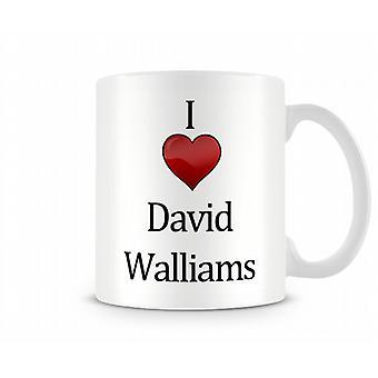 Jag älskar David Walliams tryckta mugg