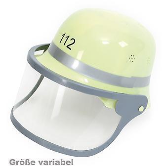 Brand helm met vizier helm