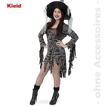 Zombie Undead femei costum voodoo Shred rochie femeii costume vrăjitoare rochie
