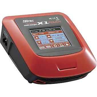 Hitec X1 Touch Scale model multifunction charger 110 V, 220 V 7 A NiMH, NiCd, LiPolymer, Li-ion, LiFePO