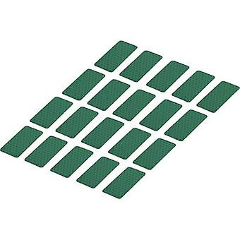 Conrad Components RTS25/50-GN 1282804 Bandes adhésives RTS Green (L x W) 50 mm x 25 mm 20 pc(s)