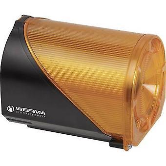 Combo ecoscandaglio Werma Signaltechnik 444.300.68 giallo 230 V AC 110 dB