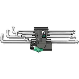 Allen Allen key set 9-piece Wera 950 PKLS/9 SM SB
