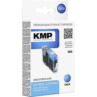 KMP Ink replaced HP 920XL Compatible Cyan H68 1718,0053