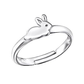 Rabbit - 925 Sterling Silver Rings - W28108X