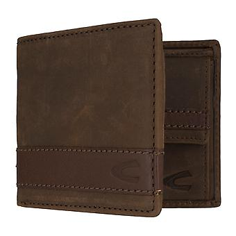 Camel active mens wallet wallet purse with RFID-chip protection Brown 7307