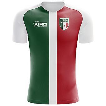 2018-2019年メキシコ旗コンセプト サッカー シャツ (キッズ)
