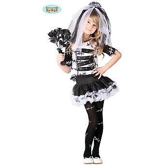 Children's costumes  monster bride halloween dress for kids