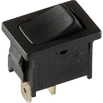 interBär Toggle switch 3633-006.22 250 V 6 A 1 x Off/(On) momentary 1 pc(s)