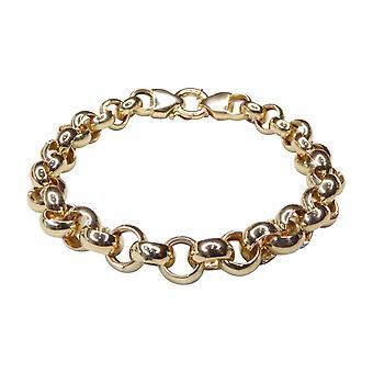 14 k Yellow Gold jasseron bracelet